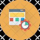 Development Web Setting Icon