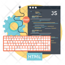 Custom Coding Web Icon