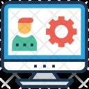 Live Webinar Online Icon