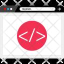 Development Code Bracket Icon
