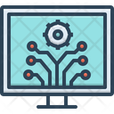 Development Innovation Evolution Icon