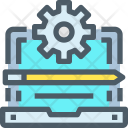 Management Development Maintenance Icon