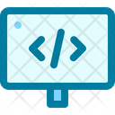 Development Data Code Icon