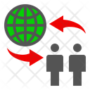 Business Development Network Icon