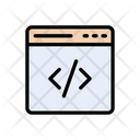 Development Coding Webpage Icon