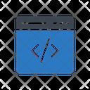 Development Coding Webpage Icon