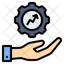 Development Optimization Production Icon