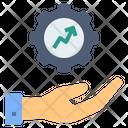 Development Optimization Production Icon