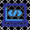 Coding Laptop Programming Icon