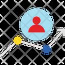 Development Employee Growth Icon