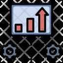Development Profit Turnover Icon