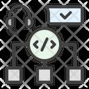 Development Support Coding Icon