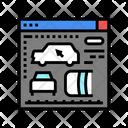 Development Car Appearance Icon