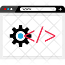 Development Code Settings Icon