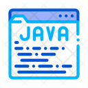 Coding Language Java Icon