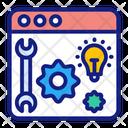 Development Solutions Content Development Icon