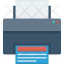 Device Document Print Icon