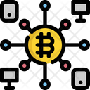 Device Bitcoin Cryptocurrency Icon