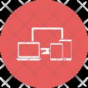 Device Laptop Mobile Icon