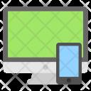 Monitor Smartphone Digital Icon