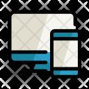 Mobile Web Technology Icon