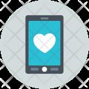 Device Mobile Love Icon