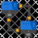 Network Communication Technology Icon