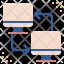 Connection Deskop Exchange Icon