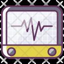 Device Heartbeat Medicine Icon