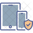 Cyber Security Mobile Icon