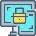 Computer Laptop Security Icon