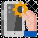 Device Optimization Technology Icon