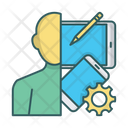 Human Devices Gadgets Icon
