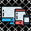 Responsive Website Interface Icon