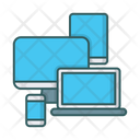 Laptop Tablet Monitor Icon