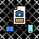 Devices Photo Exchange Icon