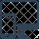 Seo Monitor Mobile Icon