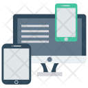 Devices Filesharing Gadget Icon