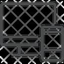Monitor Mobile Device Icon