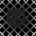 Devil Vampire Halloween Icon