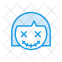 Devil Zombie Monster Icon