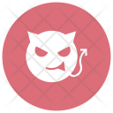 Devil Vampire Halloween Icon