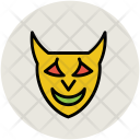 Devil Face Vampire Icon