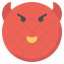 Devil Emot Smiley Icon