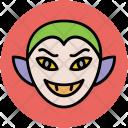 Devil Face Vampire Icon