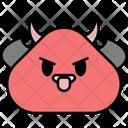 Devil Evil Emoji Icon