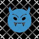Devil Ghost Clown Icon
