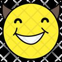 Devil Emoji Emoticon Smiley Icon