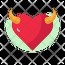 Devil Heart Icon