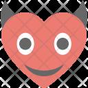 Devil Heart Evil Icon